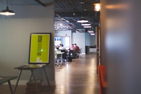 How to Brand the Most Challenging Surfaces in Your Office Building