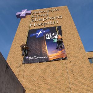 Grand Format Building Banner Printing Chicago
