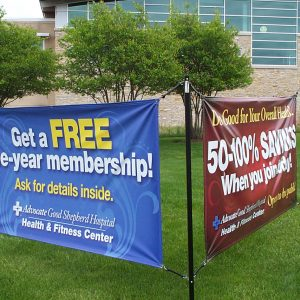 Outdoor Banner Printing Chicago